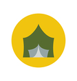 Camping tent vector image vector image