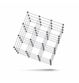 Cube icon vector image vector image