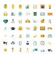 Flat icons big set travel marketing hipster vector image vector image