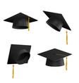 graduation cap tassel symbol education vector image vector image