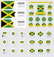 SET jamaica vector image