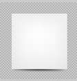 square paper banner cover transparent vector image vector image