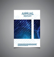 Business annual report cover design vector image vector image