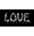 Love diamond icon vector image vector image