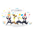 party celebration concept for web banner website vector image