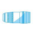 professional camera len or shutter vector image vector image
