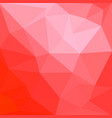 red polygonal mosaic background creative design vector image