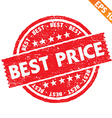 Stamp sticker best price collection - - EPS vector image vector image