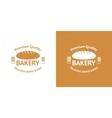 Bakery Vintage Logos vector image vector image