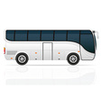 big tour bus 04 vector image vector image