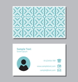 Businessman card1 vector image vector image