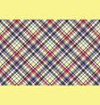 check plaid tartan fabric texture seamless pattern vector image
