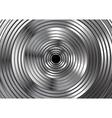 Metallic circles abstract design vector image vector image