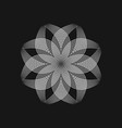 sacred geometry 0019 vector image