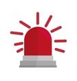 siren alarm emergency equipment vector image vector image