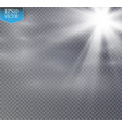 star and fog or smog on a transparent background vector image vector image