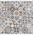 abstract patterns in the mosaic set abstract vector image vector image