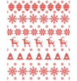 Christmas Sweater Design vector image vector image