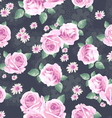 Classic rose seamless background vector | Price: 1 Credit (USD $1)