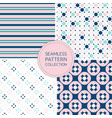 fashion seamless pattern in trendy colors pink vector image vector image