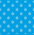 hanger with sale tag pattern seamless blue vector image vector image