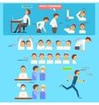 Office Syndrome Health Care Concept vector image
