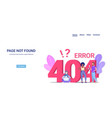 people using gadgets online app 404 page not found vector image