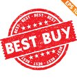 Stamp sticker best buy collection - - EPS10 vector image vector image