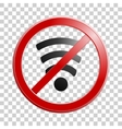 Wireless network symbol for your design Original vector image
