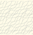 abstract line seamless pattern vector image