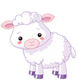 Farm animals Lamb vector image