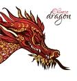 Hand Drawn Dragon vector image vector image