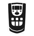 ionizer remote control icon simple style vector image