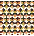 seamless abstract geometric circle pattern vector image