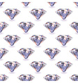 Diamond seamless repeat vector image