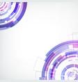 abstract hi-tech futuristic concept vector image vector image