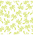 abstract seamless pattern with palm trees vector image