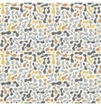Abstract Spots Seamless Pattern Texture vector image