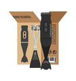 blender unpacked from box lat kitchen vector image vector image