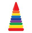 Pyramid vector image