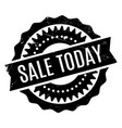 sale today rubber stamp vector image vector image
