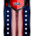 usa backgrounds modern template vector image vector image