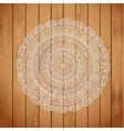 wooden arabic vector image