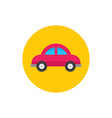 car - concept icon in flat graphic design style vector image vector image