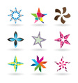 Creative Stars vector image vector image