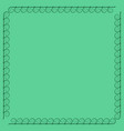 frame green 2 901 vector image vector image