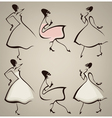 new look silhouettes vector image