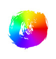 rainbow brush strokes - backdrop for your text vector image vector image