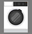 washing machine for home electric appliance vector image