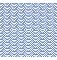 Wave Seamless Blue Pattern vector image vector image